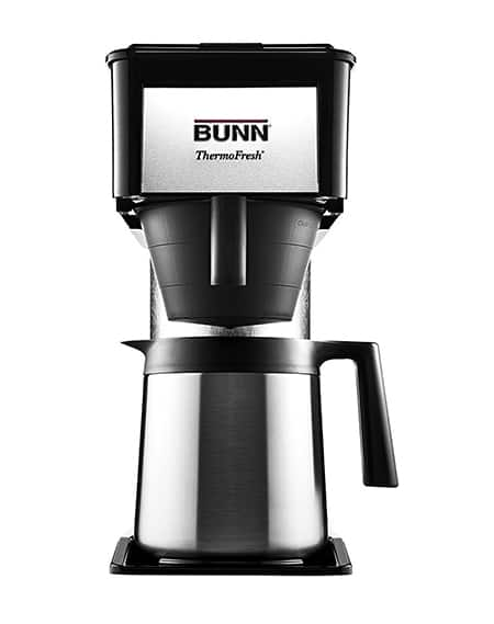 Bunn BT Velocity Brew 10-Cup Thermal Carafe Coffee Brewer Review