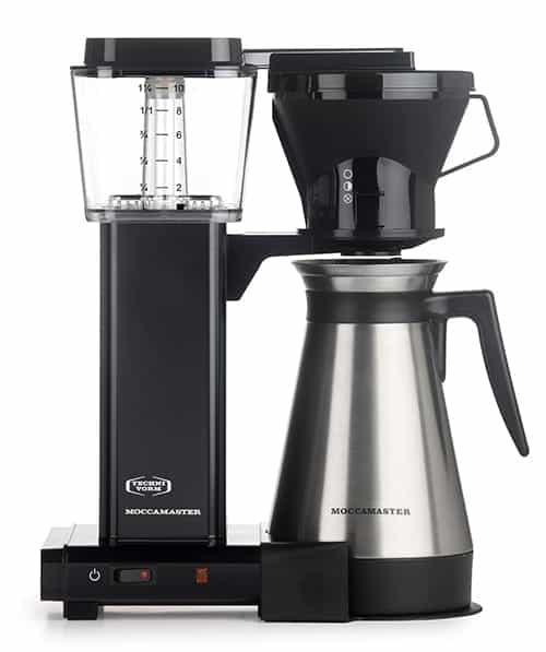 Moccamaster Kbt 10 Cup Coffee Brewer With Thermal Carafe Review