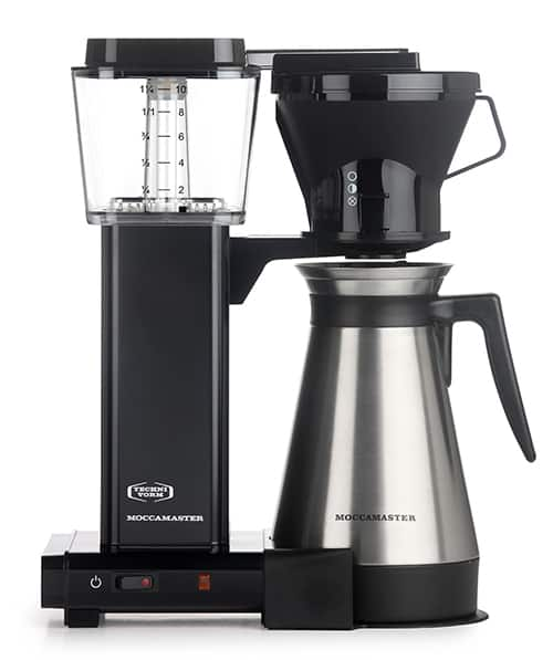 Moccamaster KBT 10-Cup Coffee Brewer with Thermal Carafe reiew