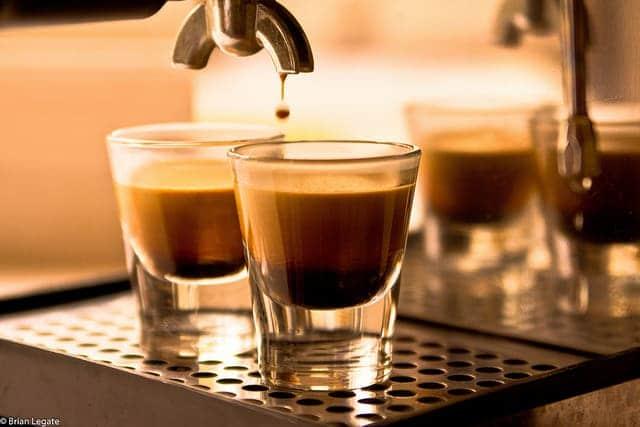 Espresso erschossen