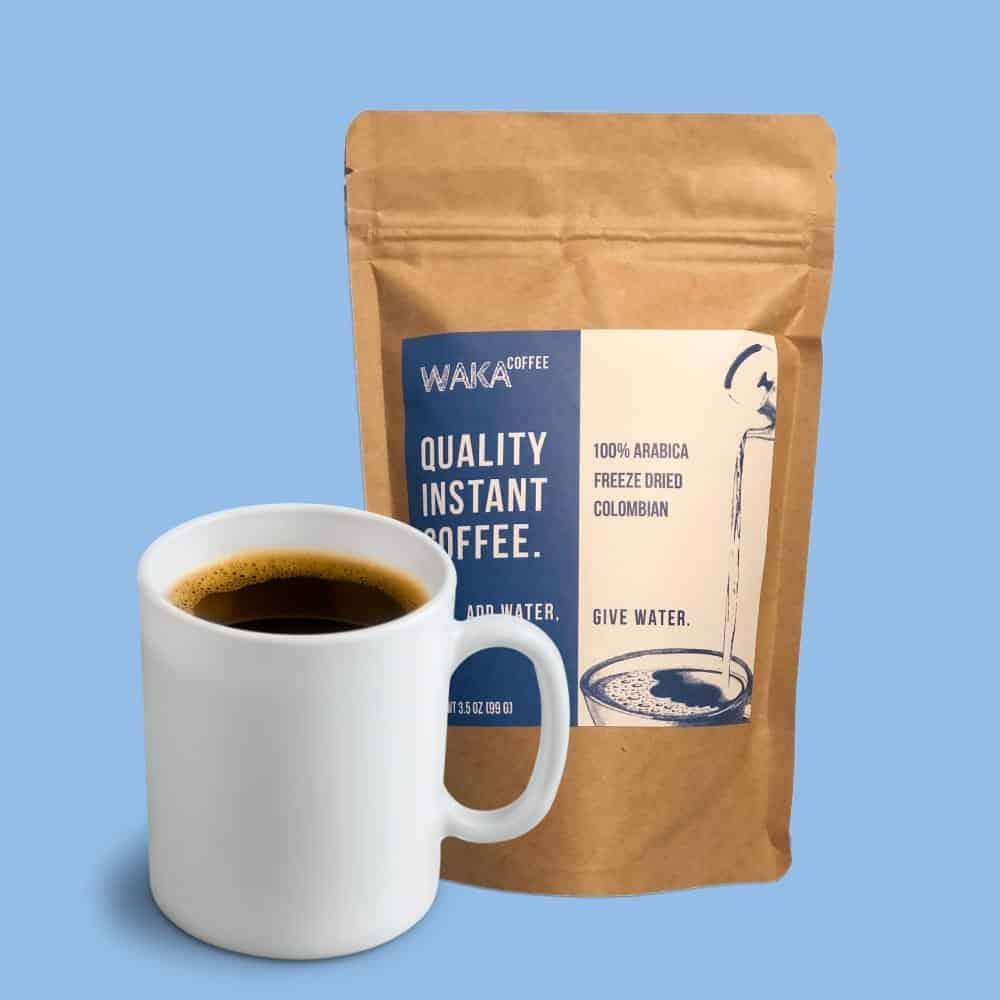 Waka Coffee Best Instant Coffee