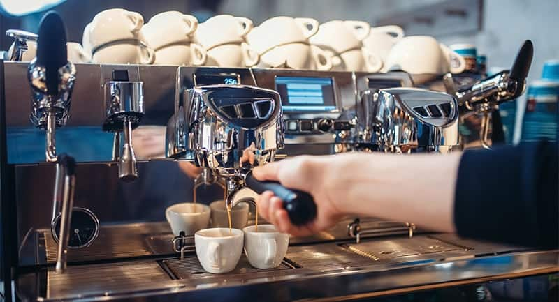 latte machine for money