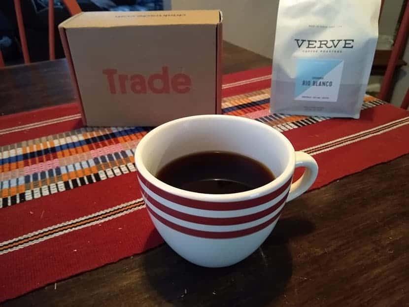 Verve coffee trade