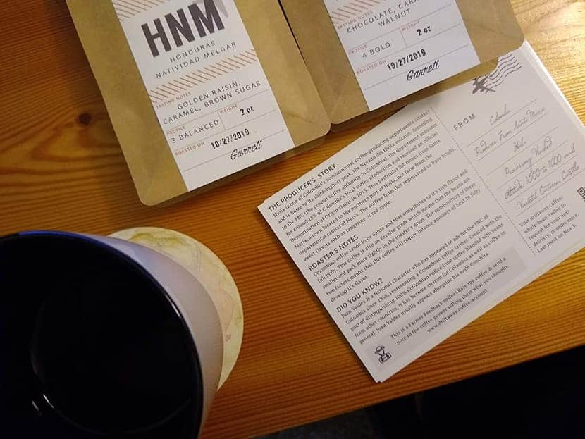 eco-friendly coffee subscription