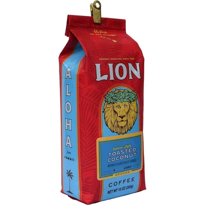 lion coffee review