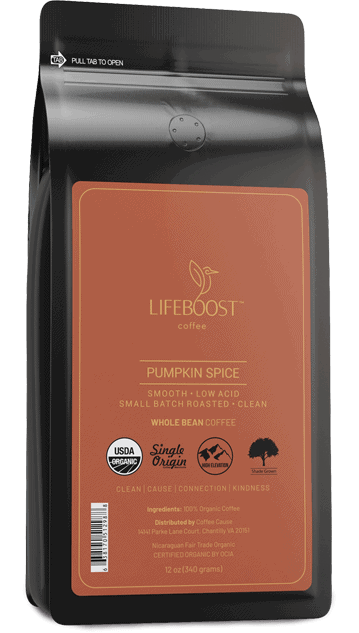 lifeboost pumpkin spice